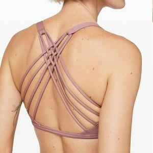 NEW Lulu free/wild bra